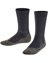 FALKE Kinder Socken Active Warm - Wollgemisch, 1 Paar, versch. Farben, Größe 19-42 - warmer, atmungsaktiver Strumpf mit Plüschsohle, ideal für aktive Kinder