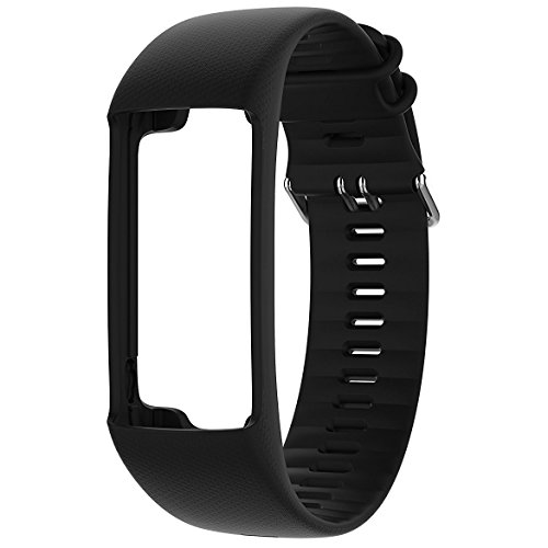 Polar Wechselarmband Wrist Strap A370, schwarz, M/L, 91064885