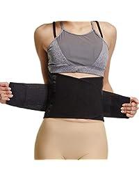 Joyshaper Cinturón Reductor Abdominal para Mujer para Adelgazar Moldeador de Cintura Adelgazante Faja Entrenador Soporte de Espalda Corsé Quemagrasas con Banda Ajustable Dual para el Vientre