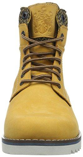 Fretz Men Cooper, Bottes courtes avec doublure chaude homme Jaune - Gelb (19 Yellow)
