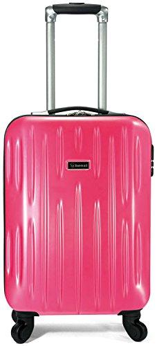 maleta-benzi-de-cabina-abs-policarbonato-4-ruedas-rosa-luminoso