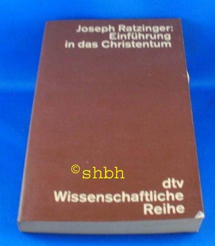 Einführung in das Christentum.