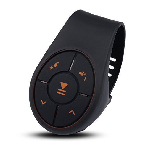 Lenkrad Fernbedienung MEITEAI Telefon Bluetooth Media Fernsteuerpult Audioadapter for iOS Android Übernehmen - Bluetooth-auto-rad