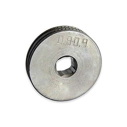 TELWIN Drahtvorschubrolle für Telwin Technomig 180-210 MIG MAG Schweißgerät VPE: 1 Stück, Typ:Fülldraht 0.9/1.2 mm