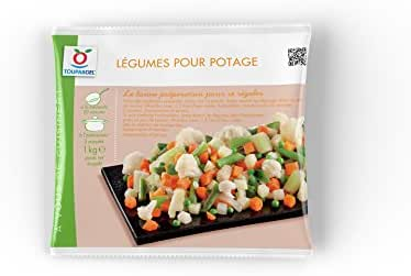 Toupargel Mélange de Légumes pour Potage 1 kg