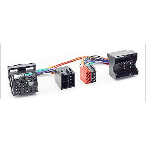 carav 12-204ISO t-Cabel. Radio Adapter für BMW 2001+/Land Rover Defender 22001+; Range Rover 2002-2006/ROVER 2001+ (Rover Range Zubehör-2004)