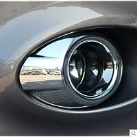 Jacmup(TM) per Ford Focus 3 2012 struttura della lampada 2013 Nebbia modificato la copertura della lampada della lampada della nebbia anello decorazione per gli accessori 2pcs / set