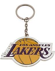 PORTE CLES LOS ANGELES LAKERS OFFICIEL METAL BASKETBALL NBA
