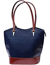 Florence Leather Market Sac à main porté épaule transformable en sac à dos 208