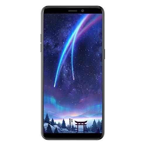 Cellulari Offerte, Ulefone P6000 Plus Smartphone in Offerta 4G, Batteria 6350mAh, Android 9.0 Pie 3GB+32GB, 128GB Espandibili, 6.0'(18:9) Smartphone, 13MP+5MP, Dual Sim, OTG/Face ID/GPS - Nero