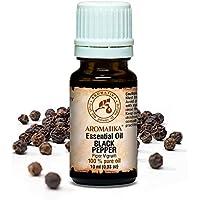 Pfefferöl Ätherisch 10ml - Piper Nigrum - Indien - 100% Naturreines Öl - für Schönheit - Pfeffer öl von AROMATIKA preisvergleich bei billige-tabletten.eu