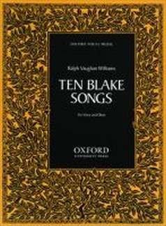 10 BLAKE SONGS - arrangiert für Gesang und andere Besetzung - Oboe [Noten/Sheetmusic] Komponist : VAUGHAN WILLIAMS RALPH Blake Oxford