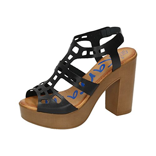 KARRALLI , sandales femme Noir