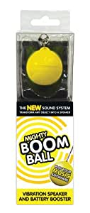 Mighty Boom Ball Battery Booster - Yellow