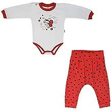 7f18cbaf8291e MROFI Vêtements Unis bébé Costume de Sport Coton Unisexe Corps Unisexe avec  Pantalon pour Les Filles