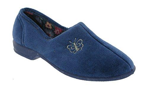 Mirak , Chaussons pour femme Bleu blueberry 40 Bleu