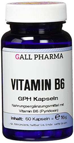 Gall Pharma Vitamin B6 GPH Kapseln, 1er Pack (1 x 16 g)