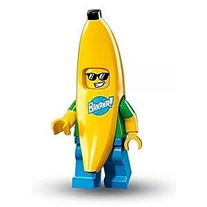 Lego Serie Minifigures 16 - BANANA GUY Figure mini Insaccato) 71013 0607128435891 LEGO
