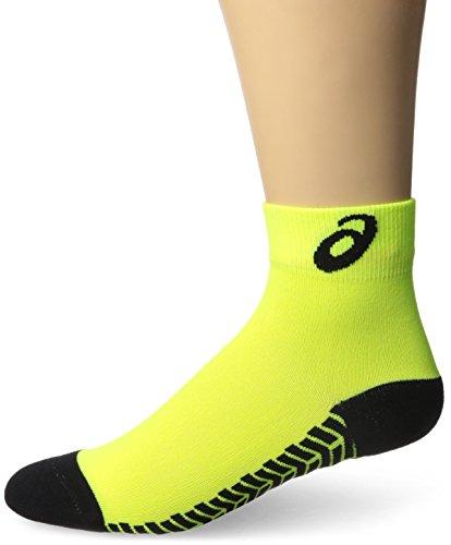 Asics Snap Down ES Socken, herren Mädchen Jungen Damen, Neon / Schwarz, X-Large (Asics Volleyball Spandex)