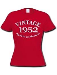 1952 VINTAGE YEAR - Cadeau d'anniversaire 62 ans T-Shirt Femme