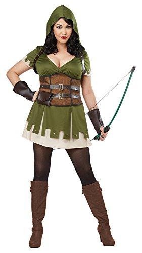 California Costumes Lady Robin Hood Plus Size Womens -