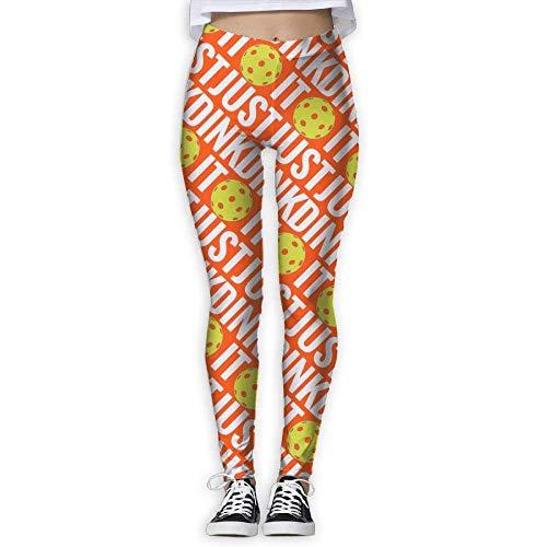 Deglogse Yogahosen, Trainingsgamaschen,Pickleball Sport Soft Compression Pants/Yoga Pants Gym Tights for Women Adult Christmas