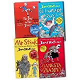 David Walliams 4 Books Collection Pack Set (The Boy in the Dress, Mr Stink, Billionaire Boy, Gangsta Granny)