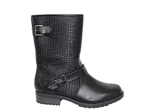 Foster ppp4its Footwear Damen Biker Stiefel schwarz 300 ppp4its Foster  Qualität ... cba4a3