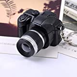 Black : Fashion Lovely Keychain ! ® Newly Hot Cute Mini Toy Camera