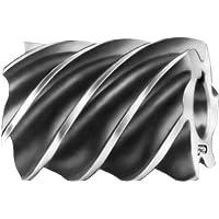 F & D Tool Company 10597-a316Uni Fräser, HELICAL, High Speed Stahl, 10,2cm Durchmesser, 15,2cm Breite von Gesicht, 11/5,1cm Loch Größe