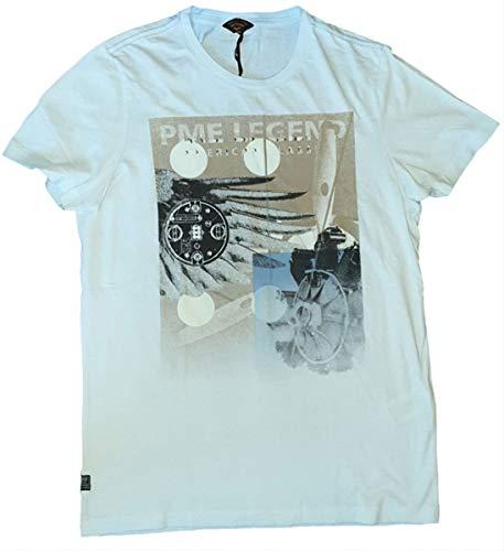 PME Legend hell Blaues t-Shirt Größe XXL