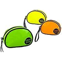 Home Line Neceser de mano con asa en color neon (21x6,5x14 cm) pvc - Verde