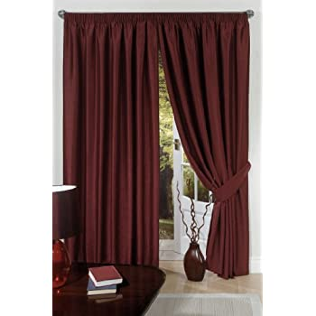 panel jacquard burgundy inch cream damask living home of curtains curtain awesome aurora inspirational width grommet wide for room