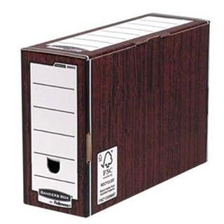 Fellowes R-Kive Premium Transfer File W127xD359xH254mm - Woodgrain Ref 00053-FF (Pack of 10)