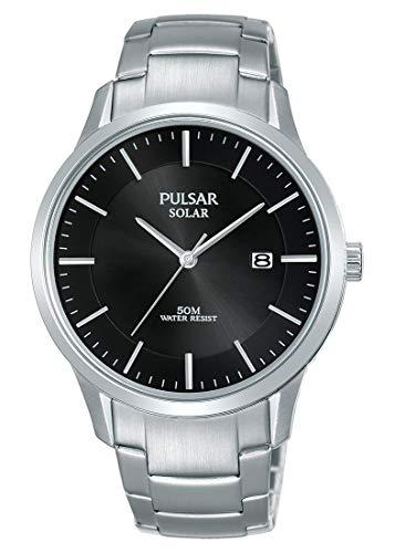 Pulsar Reloj Analógico para Hombre de Cuarzo con Correa en Acero Inoxidable PX3161X1