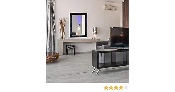 60x90cm Mustdunet Miroir Noir Confection Artisanale Mat/ériau et Design Premium Shabby Chic Miroir Baroque orn/é