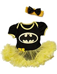 Batgirl-inspired Infant Tutu Dress (6-9 Months)