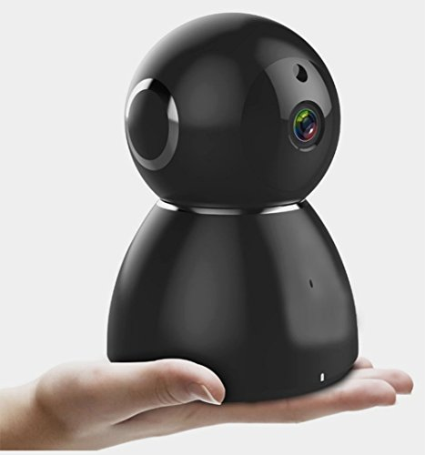1080P HD Überwachungskamera, Wireless WiFi Sicherheit Überwachungssystem mit Bewegungserkennung und Zwei-Wege-Audio, Unterstützung von Cloud Storage