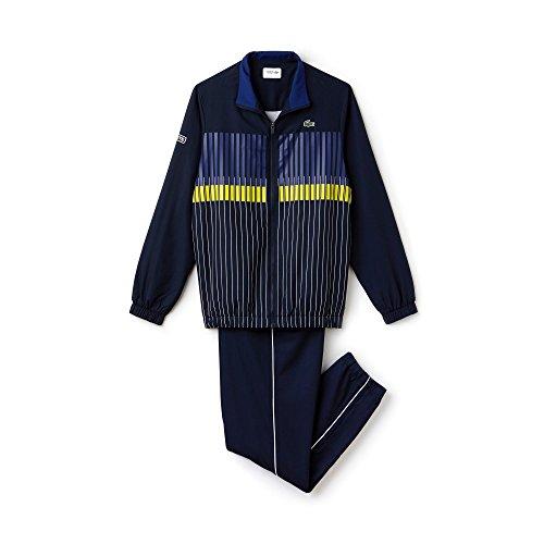 LACOSTE SPORT - Herren Sportanzug - WH7994 marine - blau - gelb