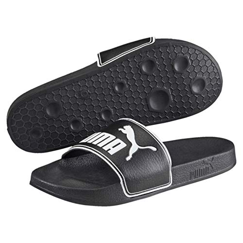 Puma Leadcat, Chanclas Unisex Adulto, Negro Black-White