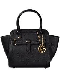 Shopclans Black Color Handbag For Girls / Women's (SPC-056)