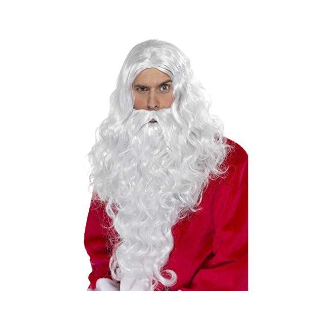 d3109bbf595 Costume père noël + Sac de cadeau (KV-73b) déguisement rouge et ...