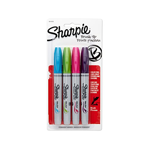 sharpie-brush-tip-permanent-markers-4-pkg-lime-magenta-purple-turquoise
