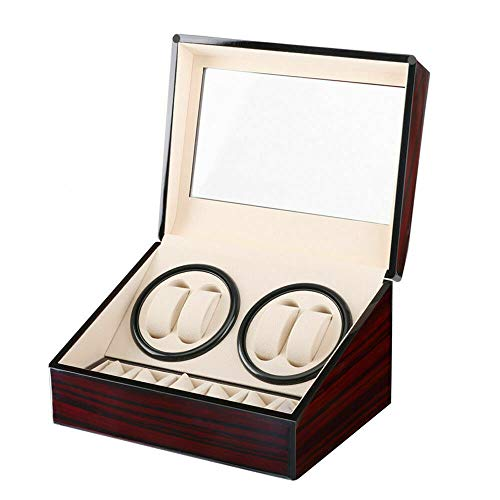 MarkUK - Scatola carica orologi con 4 + 6 griglie
