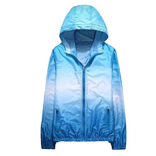 Damen Farbverlauf Mantel Pullover Kapuzenpullover Tie Dye 3D Druck Sweatshirt MYMYG Jacket Outwear...