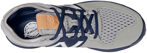 New Balance Men's L3000V3 Baseball Shoe, Royal/White, 10 2E US Grey/Navy