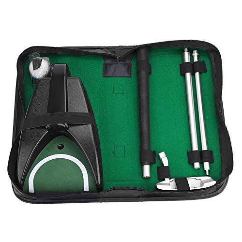 Dilwe Golf Putter Set, Golf Return Machine Inklusive Putter Ball mit Aufbewahrungstasche für Indoor Golf Putting Golf Geschenk -