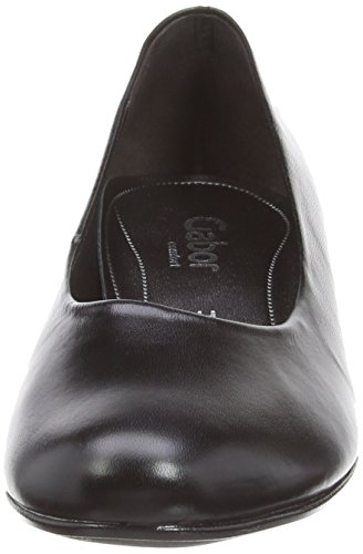Gabor Alston L Damen Geschlossen Black (Black Leather)