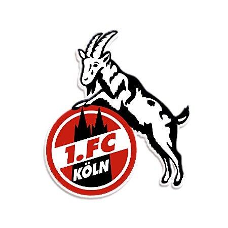 "Preisvergleich Produktbild STICKER AUFKLEBER ""Geißbock"" 1. FC KÖLN 8 cm"