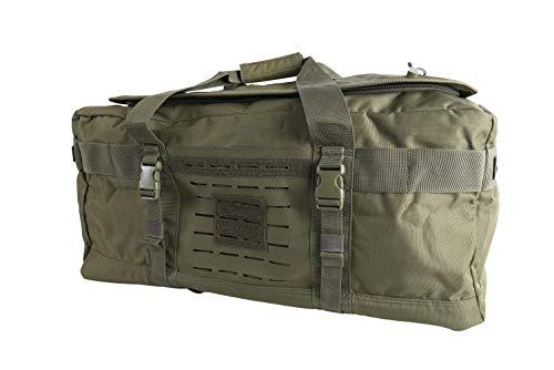 LA Police Gear Expedition Reisetasche mit Rucksackgurten, Herren, OD Green, One_Size -